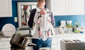 work at home father